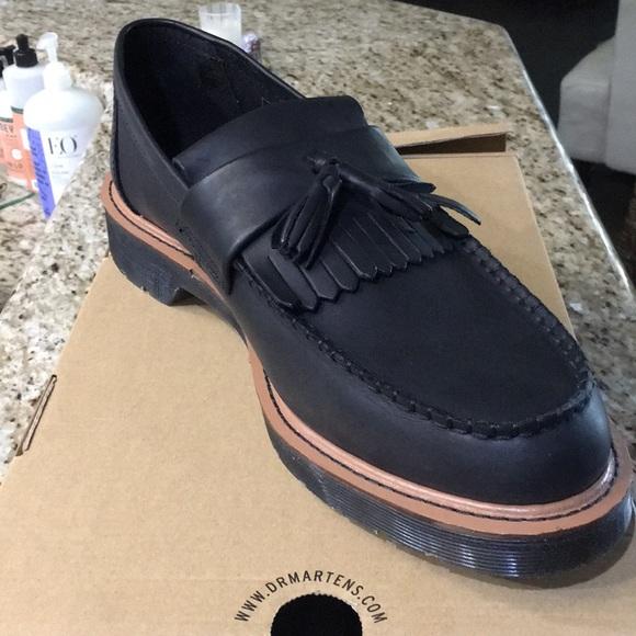 bca8445943bf33 Dr. Martens Shoes   Dr Martens Adrian Black Loafer   Poshmark